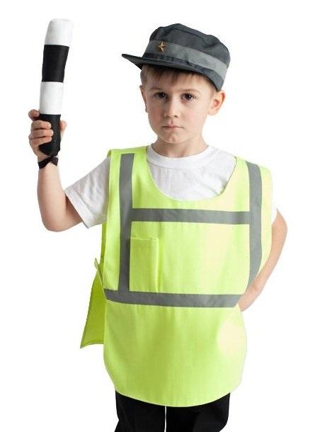 Костюм полицейского своими руками для ребенка